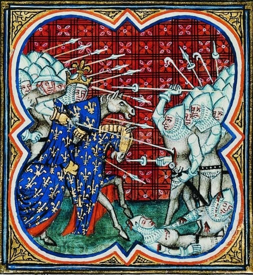 1315812 Bataille des éperons dor