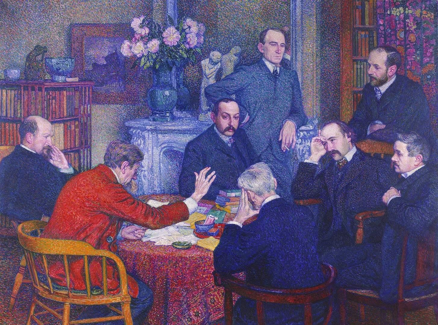 La Lecture Emile Verhaeren