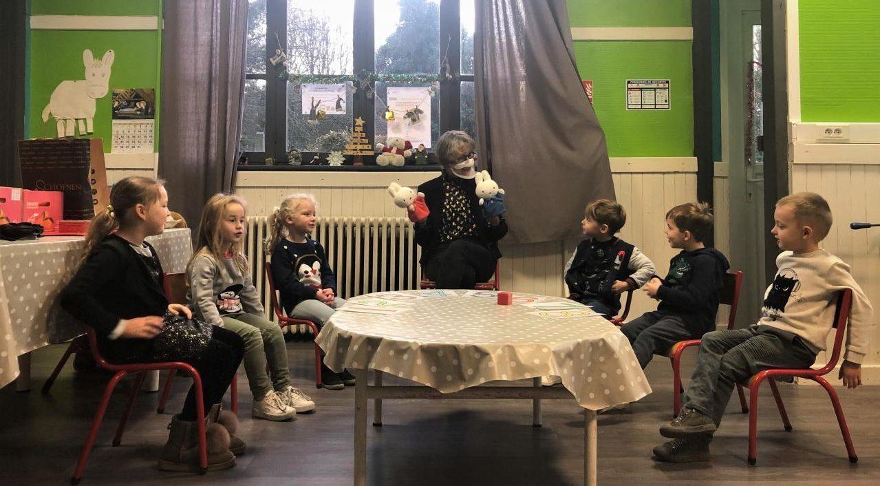 Sita leert Franse kinderen NL met Nijntje