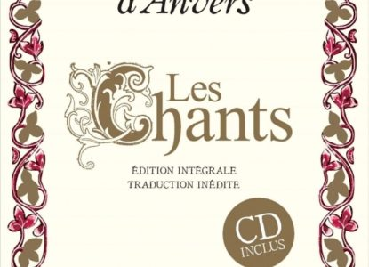 Hadewijch d Anvers Les Chants