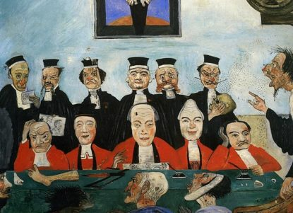 James Ensor Les bons juges 1891