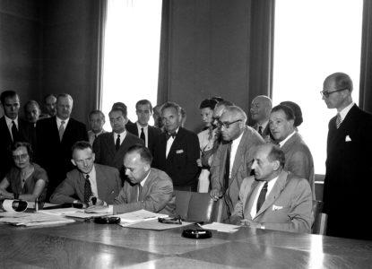 Ondertekening Conventie rights UN Photo ES