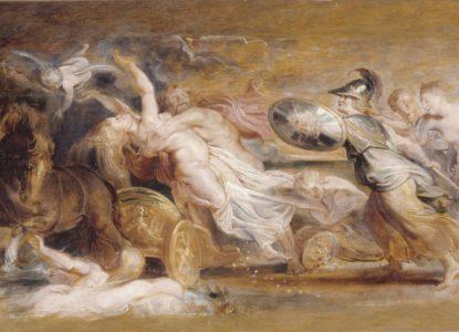 Rubens L Enlèvement de Proserpine Petit Palais