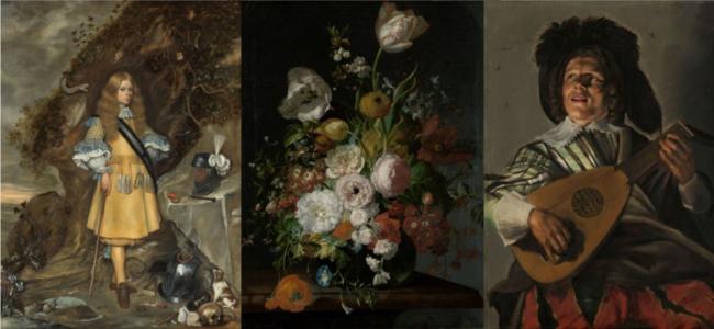 Eregalerij Rijksmuseum ter Borch Ruysch Leyster