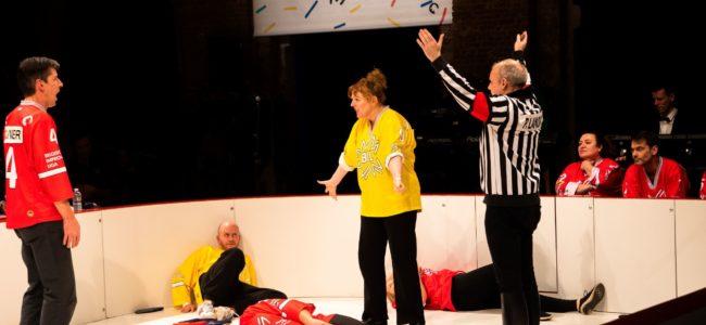 Foto 5 De Belgische Improvisatie Liga speelt improvisatietheater in wedstrijdvorm Dirk Den Aantrekker 1