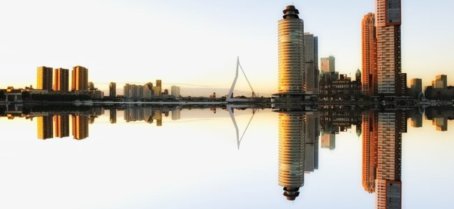 Foto Rotterdam skyline