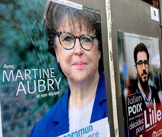 Martine aubry lille2020